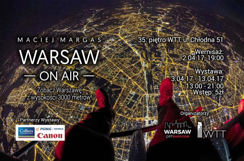 warsaw on air plakat